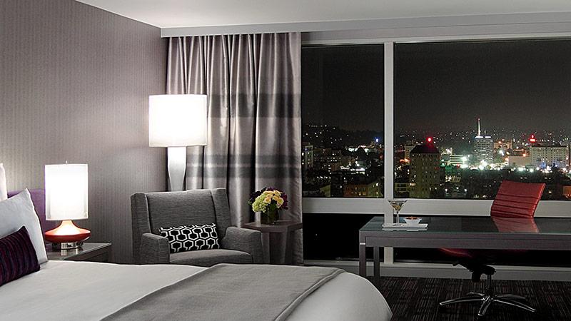 City views room king at the Loews Hollywood