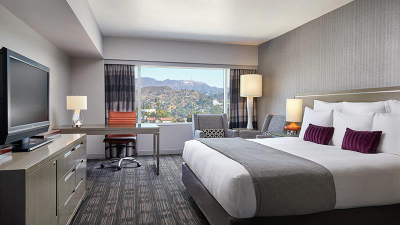 Hollywood Sign King room at the Loews Hollywood