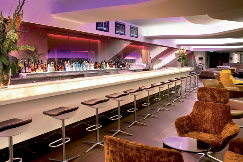 JFK lounge - Virgin Atlantic