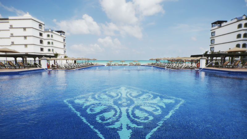 Main Pool at the Grand Residences Riviera Cancun