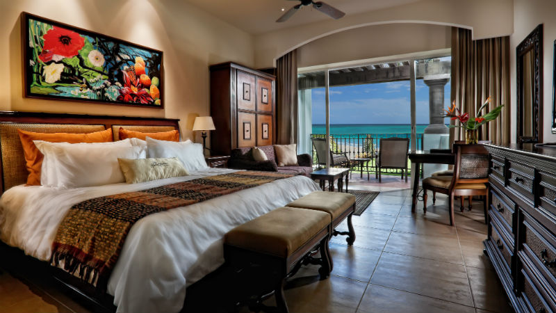 a Master Bedroom at the Grand Residence Riviera Cancun