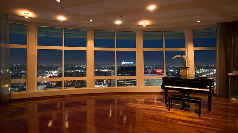 Panorama Suite at the Loews Hollywood hotel
