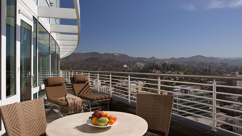 Producer Suite at the Loews Hollywood Hotel