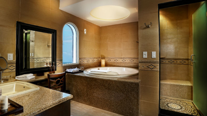 Master Suite Luxury one bedroom Bathroom at the Grand Residence Riviera Cancun