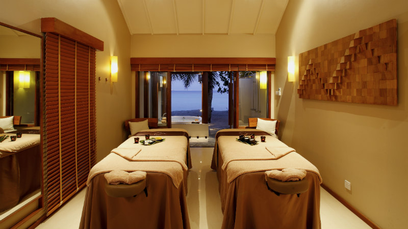 Spa cenvaree at the Centara Ras Fushi Resort and Spa Maldives