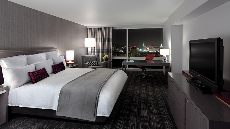 Standard room at the Loews-Hollywood