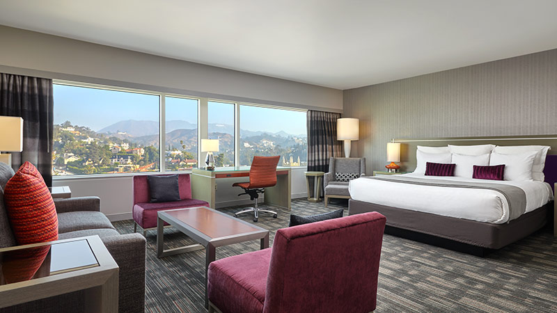 Studio King Suite at the Loews Hollywood Hotel