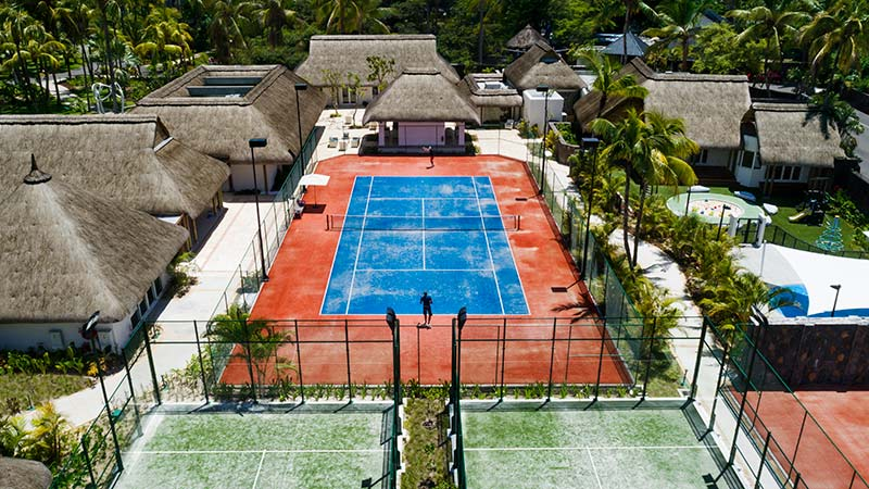 Tennis Courts at the One & Only LeSaint Geran