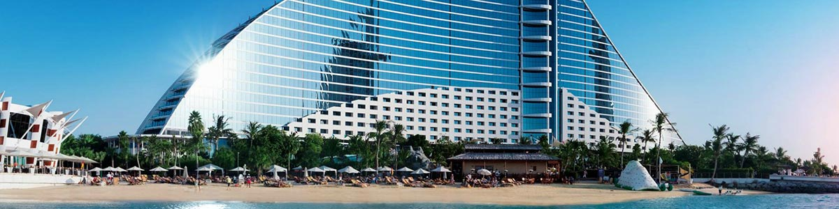 Iconic Jumeirah Beach Hotel in Dubai