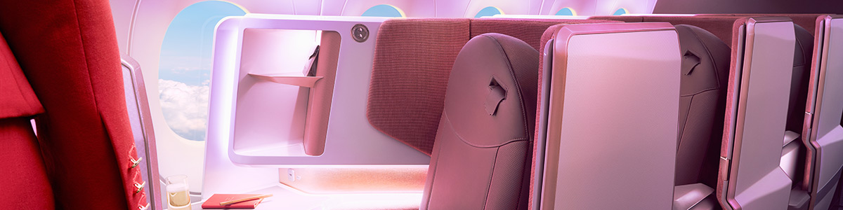 The new upper class suite on Virgin Atlantic's A350