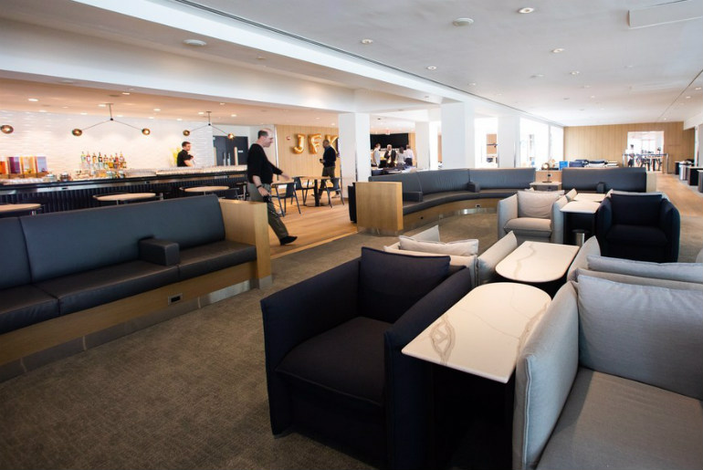 British Airways new JFK Lounge