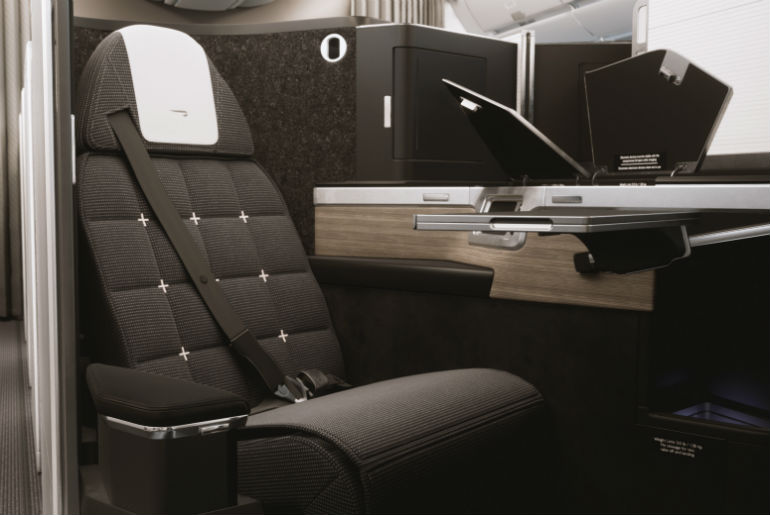 BA seat Club Suite