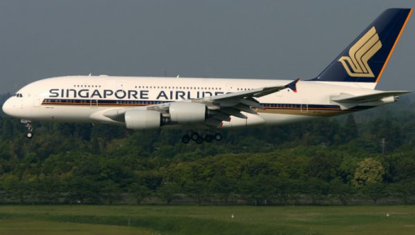 Sinagpore Airlines A380