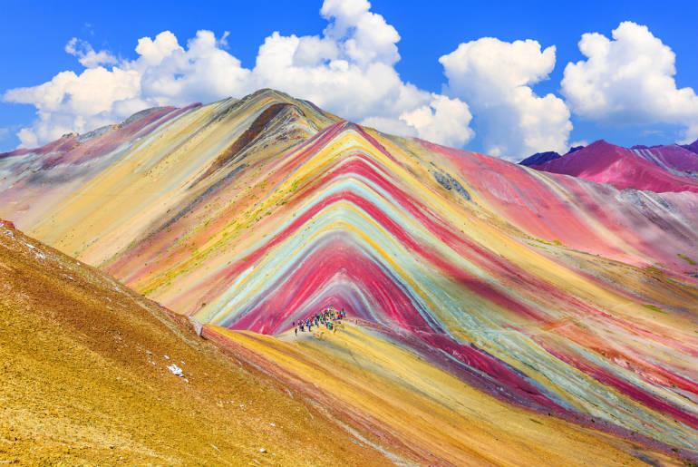 Vinicunca Cusco Region Peru Rainbow mountain