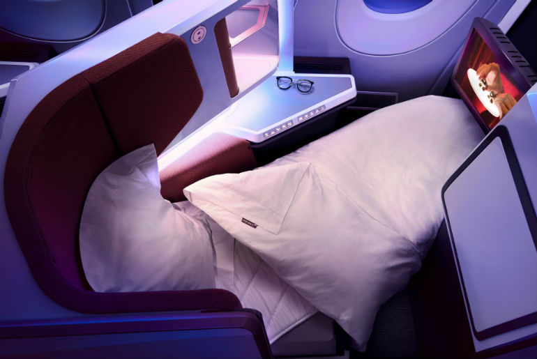 Virgin Atlantic Upper Bed