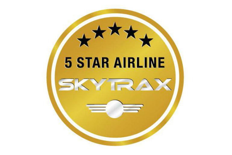 Skytrax 5 Star logo