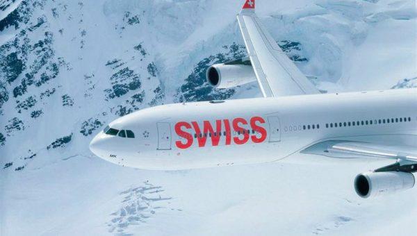A A340 SWISS Aircraft