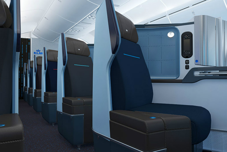 KLM Boeing 787 Business Class