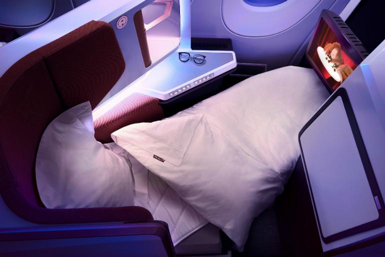 Virgin Atlantic A350 Upper Bed