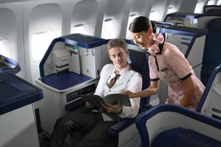 Ana Airlines business class