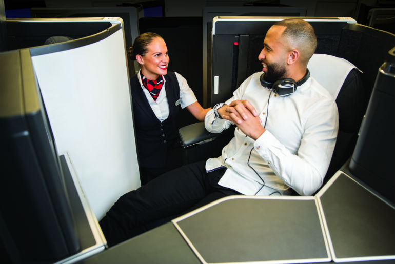 Club Suite on British Airways A350