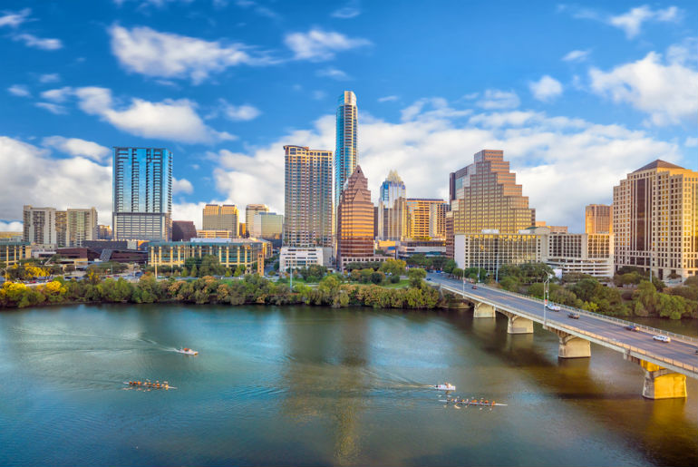 Downtown Skyline of Austin Texas