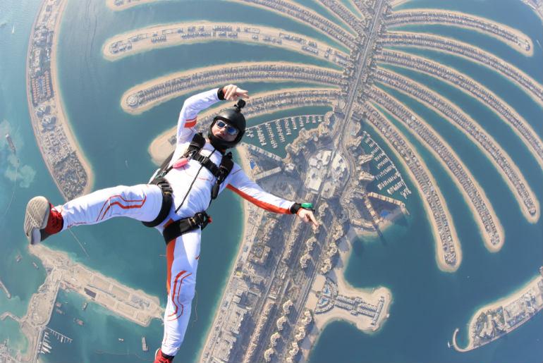 Dubai Outdoor skydiving