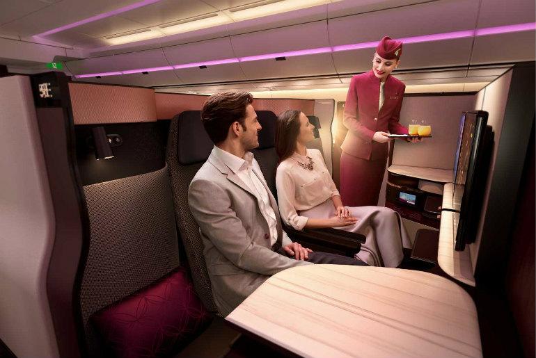 Qsuite Qatar Airlines