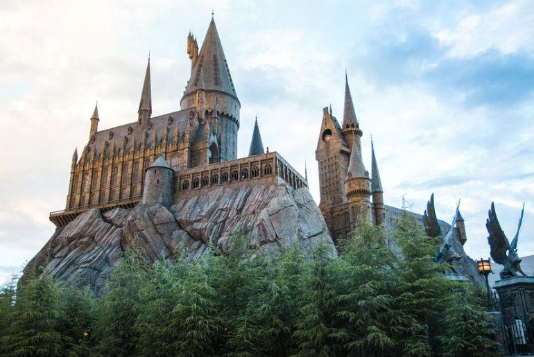 Hogwarts Castle Universal Studios