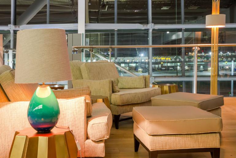 British Airways Concord lounge T5