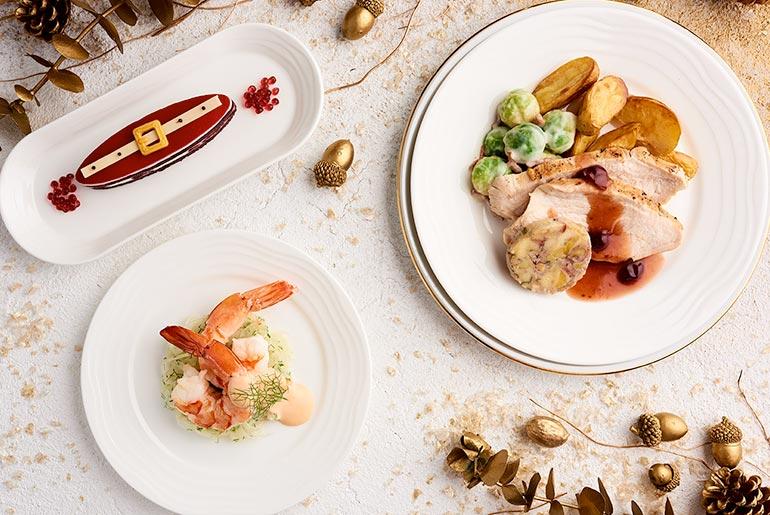 Emirates Christmas dinner