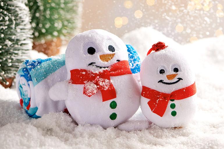 Emirates Christmas snowman toy