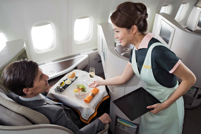 Eva Air Royal Laurel Business Class