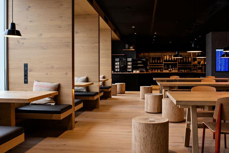 SWISS Zurich lounge